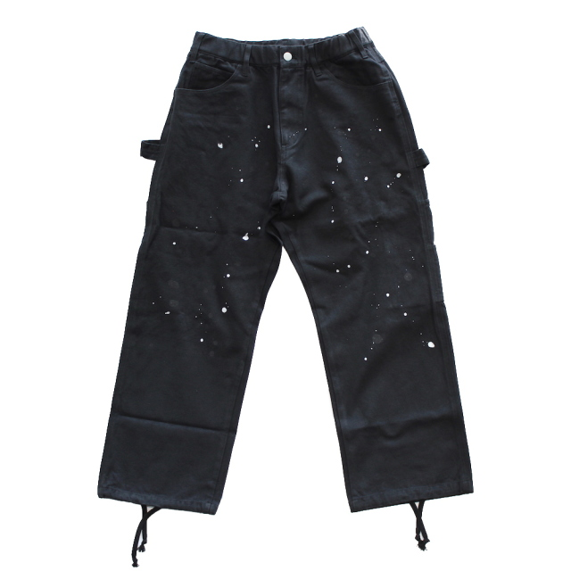 BLACK EYE PATCH × WHIMSY PAINTER PANTS BLACK
