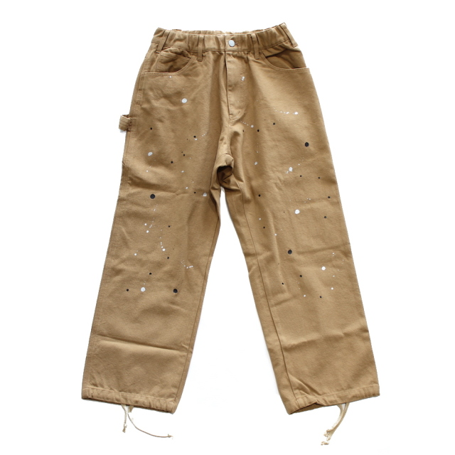 BLACK EYE PATCH × WHIMSY PAINTER PANTS BROWN