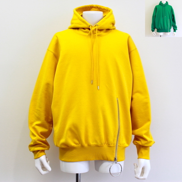 JOHNLAWRENCESULLIVAN ZIPPED SWEAT HOODIE