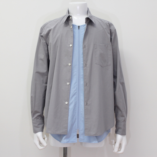 KUDOS DOUBLE OPENING SHIRT GRAY