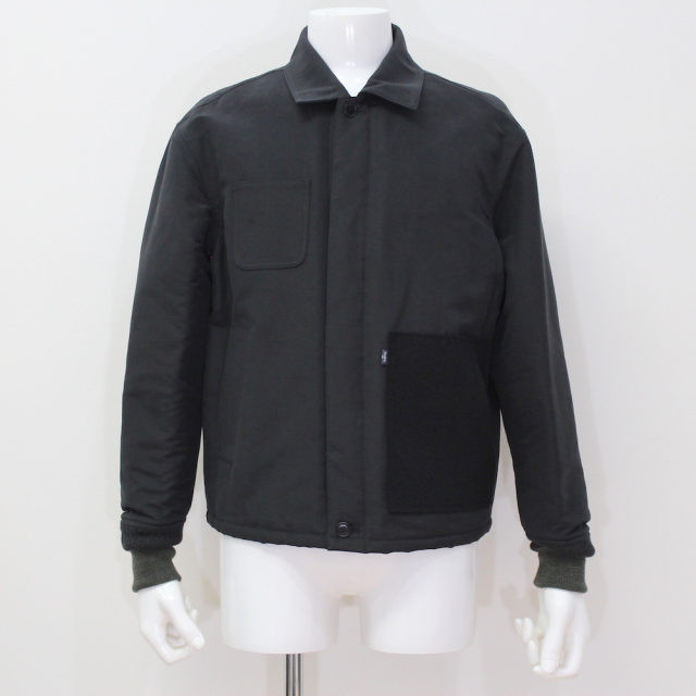 KUDOS PATCH POCKET BLOUSON BLACK