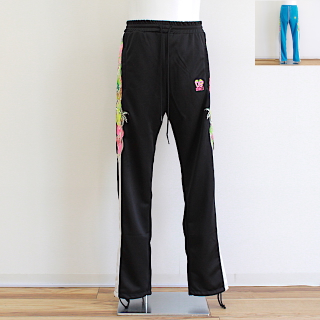 doublet CHAOS EMBROIDERY TRACK PANTS