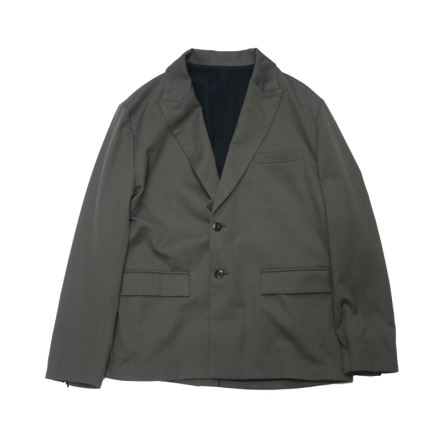 JIEDA TAILORED JACKET CHARCOAL GRAY