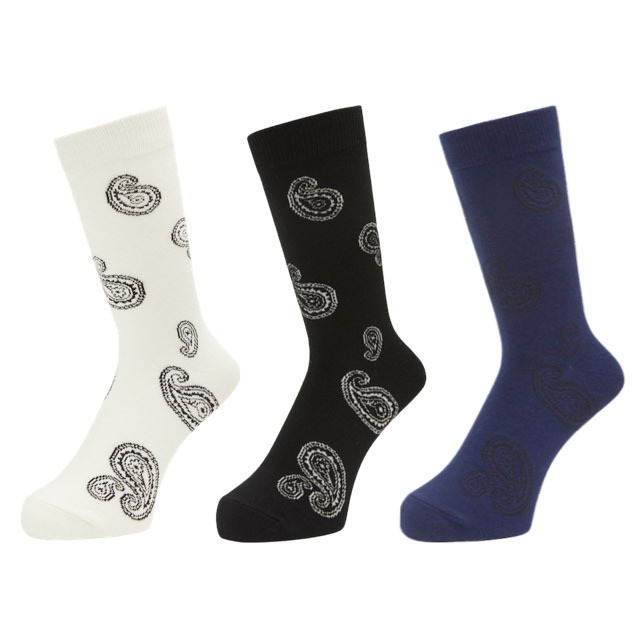 WHIMSY BIG PAISELY SOCKS