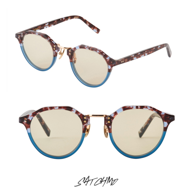 A.D.S.R SATCHMO 14 LAYER BROWN&PALE BLUE (Lt.YELLOW)