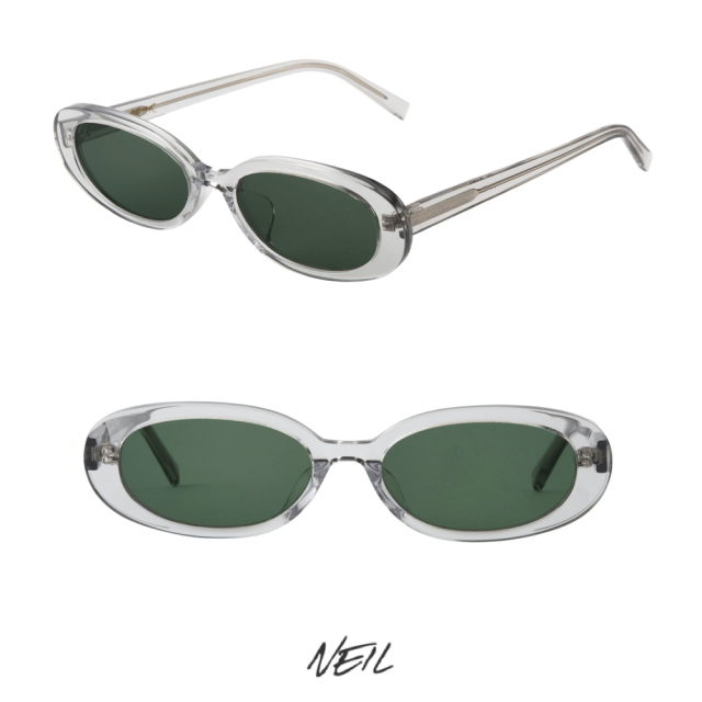 A.D.S.R NEIL 04 CLEAR GRAY (GREEN)