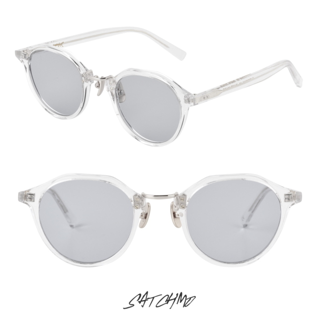 A.D.S.R SATCHMO 03e CLEAR/SILVER (Lt.GRAY)