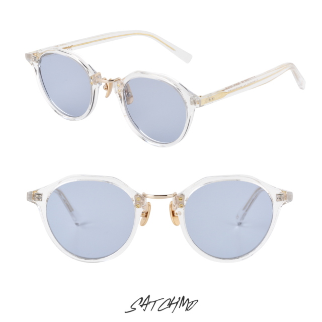 A.D.S.R SATCHMO 03a CLEAR/GOLD (Lt.BLUE) 再入荷