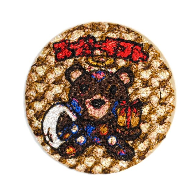 doublet EMBROIDERY BADGE GOLD