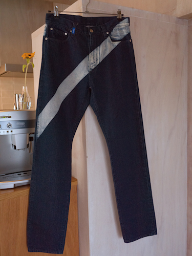 KUDOS LINED DENIM TROUSERS 2カラー