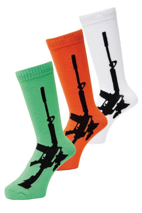 WHIMSY SOCKS 32/1 GUN SOCKS 3カラー