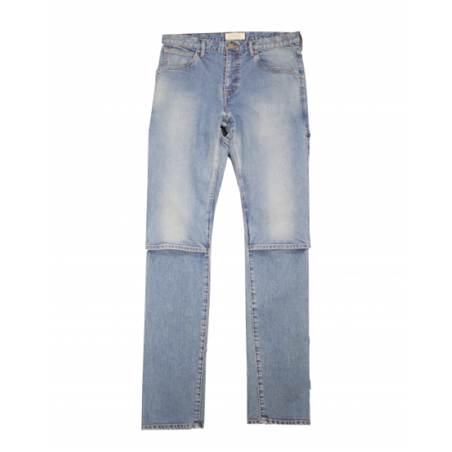 [予約商品 3月末入荷] JIEDA 19S-PT12-B USED 2WAY SLIM DENIM PANTS (IND)