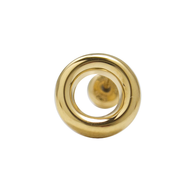 EPHEMERAL EYELET CIRCLE PIERCE TYPE1 GOLD