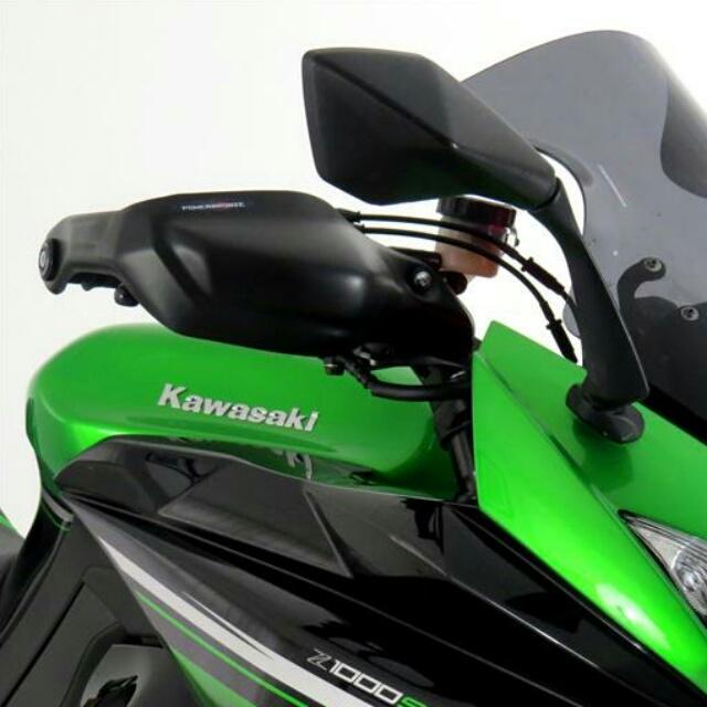 KAWASAKI >> Ninja1000(11-16) ハンドガードキット Powerbronze