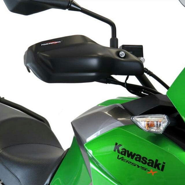 KAWASAKI >> VERSYS-X 250・TOURER(17-) ハンドガードキット Powerbronze