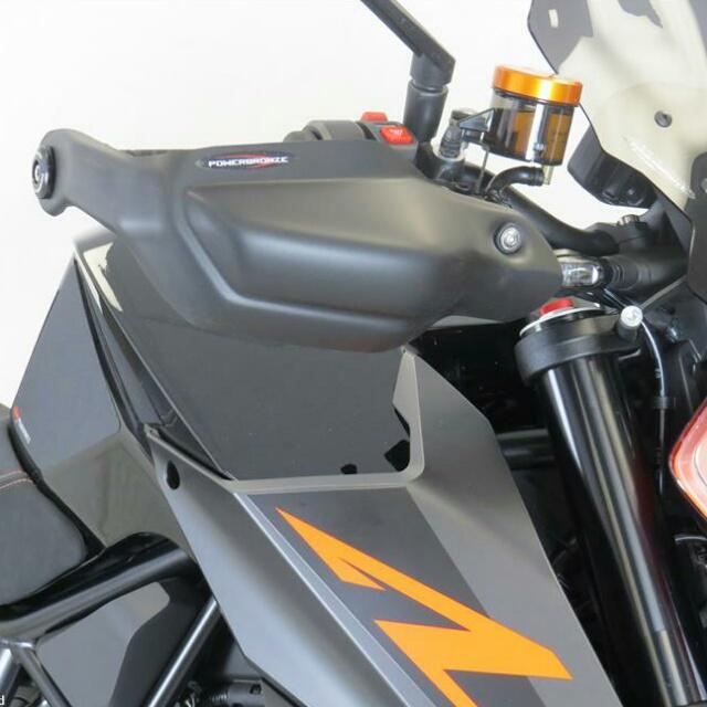 KTM >> 1290SuperDukeR(17-) ハンドガードキット Powerbronze