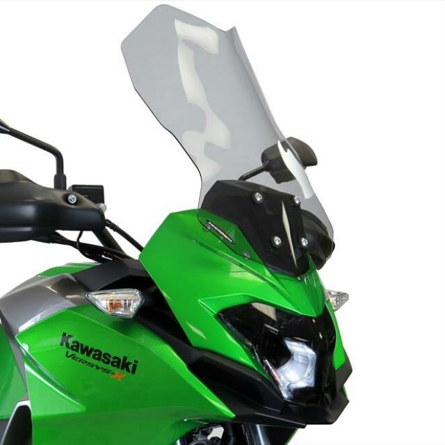 KAWASAKI >> VERSYS-X 250・TOURER(17-)スポーツ・フリップスクリーン Powerbronze
