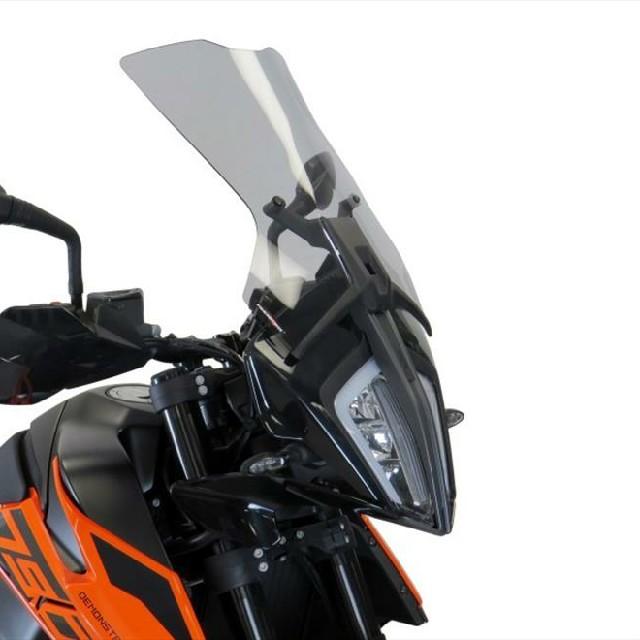KTM >> 790Adventure(19-)スポーツ・フリップスクリーン Powerbronze
