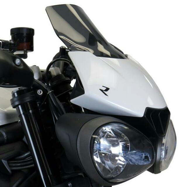 TRIUMPH>> StreetTripleR/RS(17-)・SpeedTripleS/R/RS(16-)純正カウル専用 ネイキッド・スクリーン