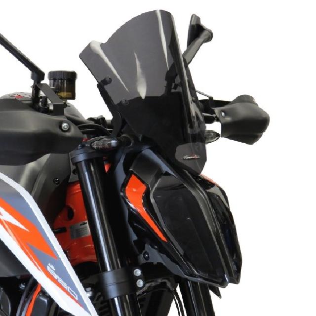KTM >> 890Duke/R(20-) ネイキッド・スクリーン【ロング】 PowerBronze