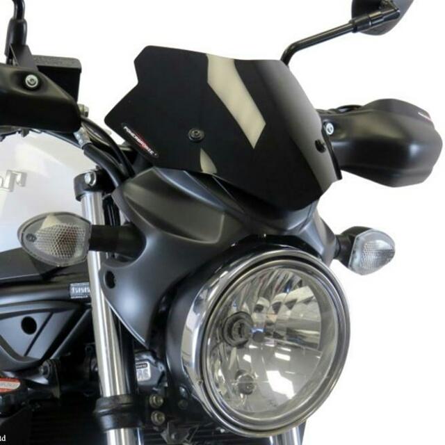 SUZUKI >> SV650 ABS(16-) 純正カウル専用ネイキッド・スクリーン