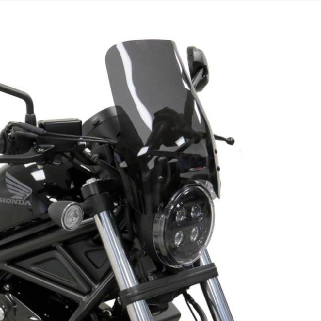 HONDA >> REBEL250/500 (17-) ネイキッド・スクリーン【ロング】  Powerbronze