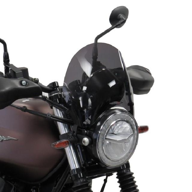 MOTO GUZZI >> V7III STONE/NIGHTPACK(17-20) ネイキッド・スクリーン【ショート】 PowerBronze
