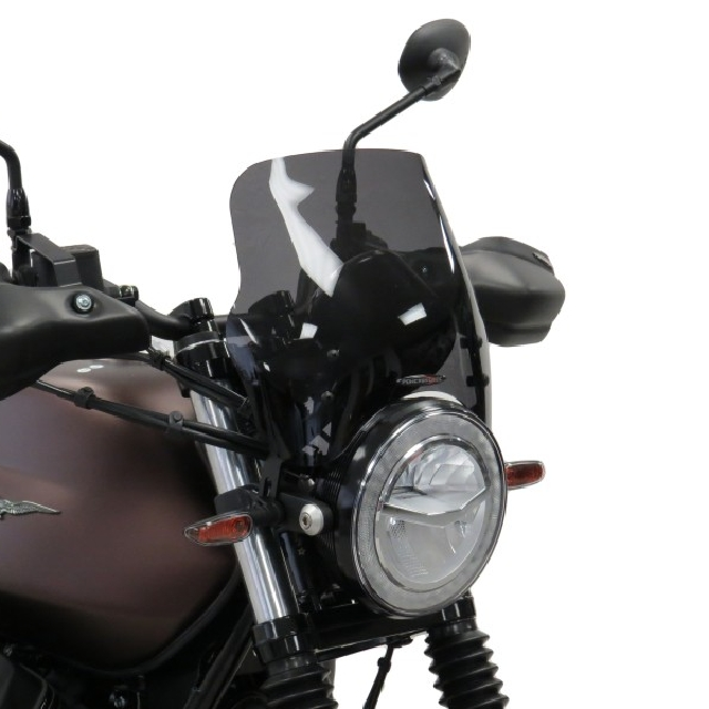 MOTO GUZZI >> V7III STONE/NIGHTPACK(17-20) ネイキッド・スクリーン【ミドル】 PowerBronze