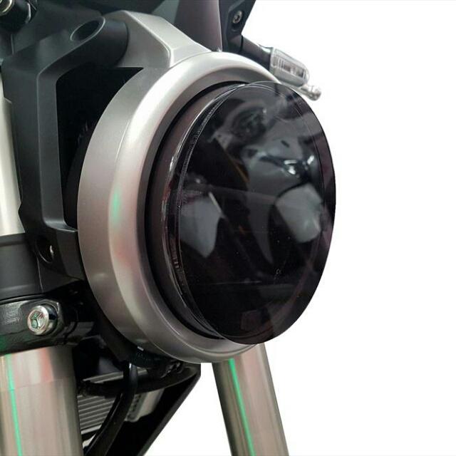 HONDA >> CB250R・CB125R(18-) ヘッドライトレンズシールド Powerbronze