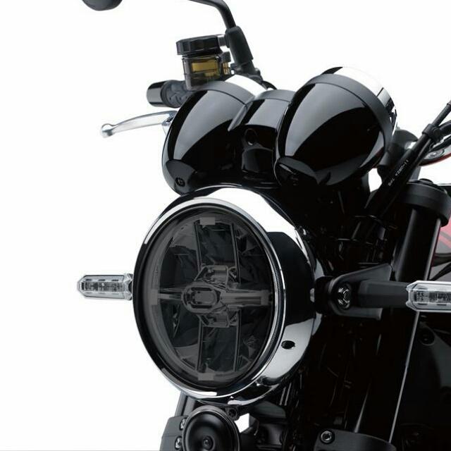 KAWASAKI >>Z900RS/Cafe(18-) ヘッドライトレンズシールド Powerbronze