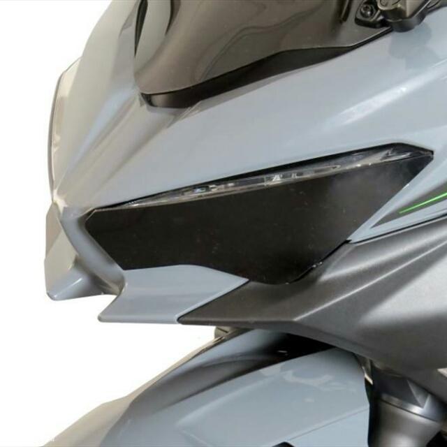 KAWASAKI >>Ninja250/400(18-) ヘッドライトレンズシールド Powerbronze