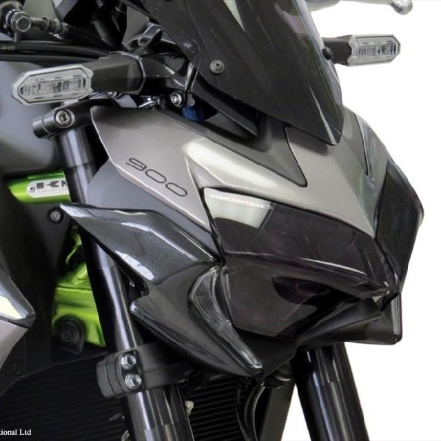 KAWASAKI >>Z900(20-) ヘッドライトレンズシールド Powerbronze