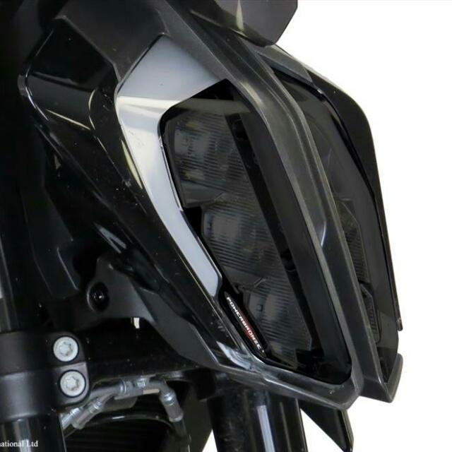 KTM >> 790DUKE(18-) ヘッドライトレンズシールド Powerbronze