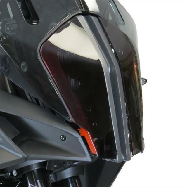 KTM >> 1290SuperAdventureR/S (17-) ヘッドライトレンズシールド Powerbronze