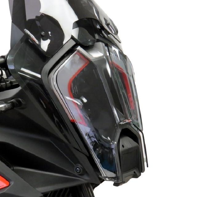 KTM >> 1290SuperAdventureS (21-) ヘッドライトレンズシールド Powerbronze