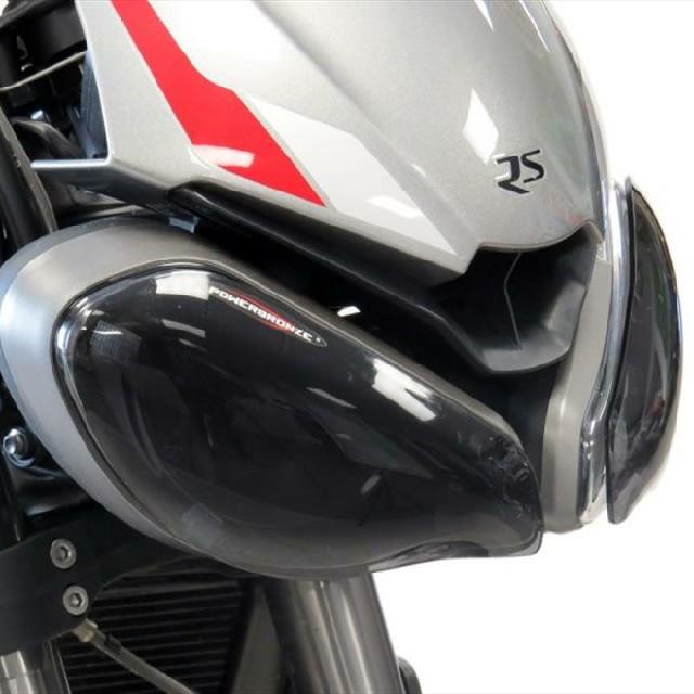 Triumph >> StreetTriple S/R/RS (20-) ヘッドライトレンズシールド Powerbronze