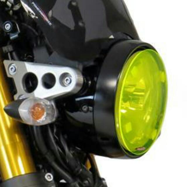 YAMAHA >> XSR900/700(16-) ヘッドライトレンズシールド Powerbronze