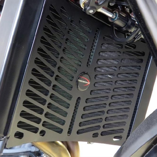 KTM >> 890Duke/R (20-) ラジエターカバー PowerBronze