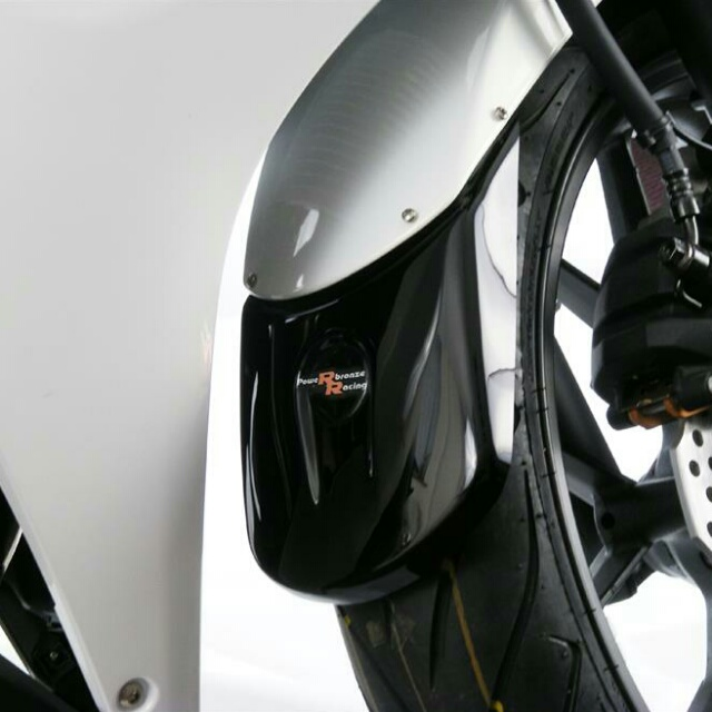HONDA >> CB500X/400X(13-)・CBR400R(13-) マッドガードエクステンダー Powerbronze