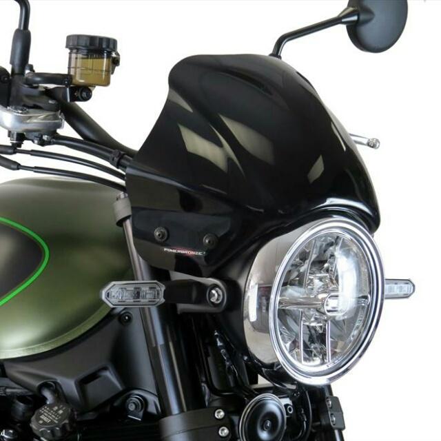KAWASAKI >> Z900RS(18-) メーターバイザー Powerbronze