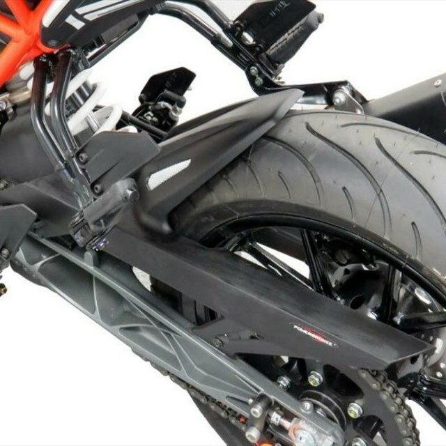 KTM >> 125/250/390DUKE (17-)・RC125/250/390 (15-) インナーフェンダー Powerbronze