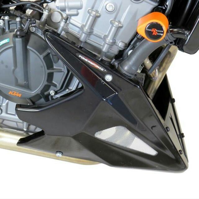 KTM >> 890DUKE R(20-)・790DUKE(18-) アンダーカウル Powerbronze