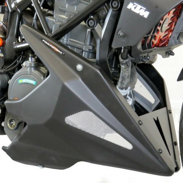 KTM >> 390DUKE(17-) アンダーカウル Powerbronze
