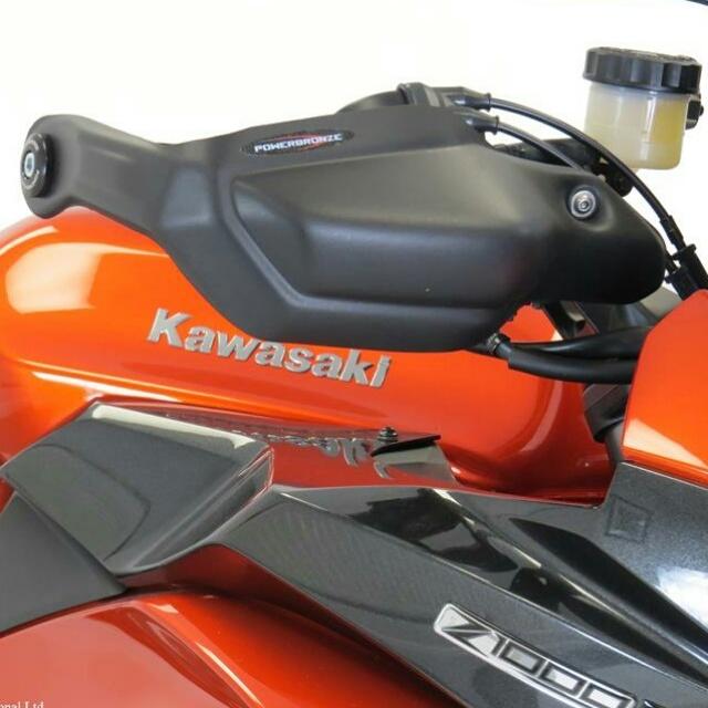 KAWASAKI >> Ninja1000/SX(17-) ハンドガードキット Powerbronze