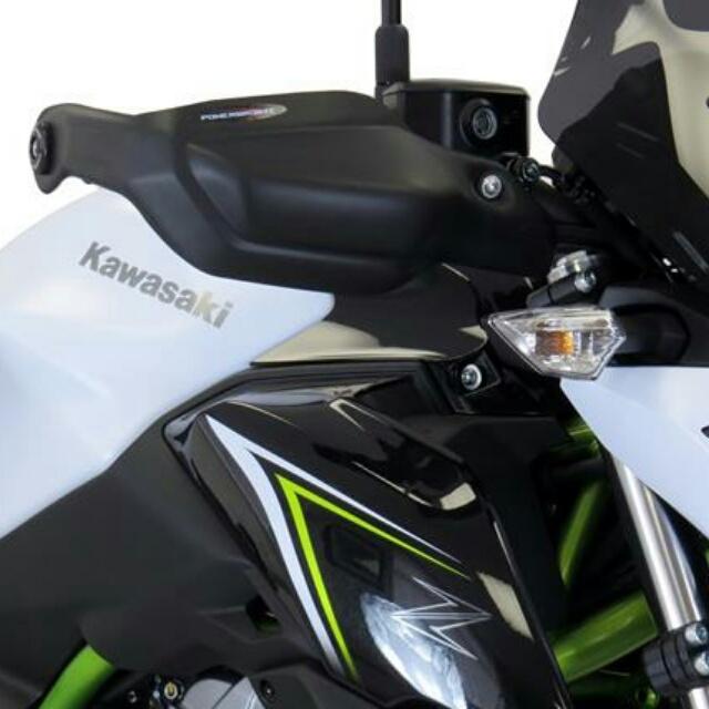 KAWASAKI >> Z650(17-) ハンドガードキット Powerbronze
