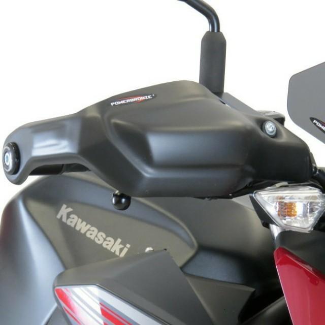 KAWASAKI >> Z250/400(19-) ハンドガードキット Powerbronze
