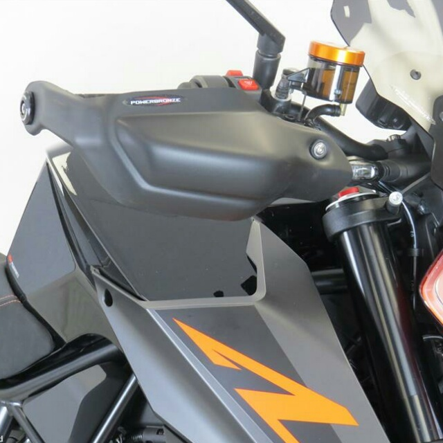 KTM >> 1290SuperDukeR(17-) ハンドガードキット Powerbronze