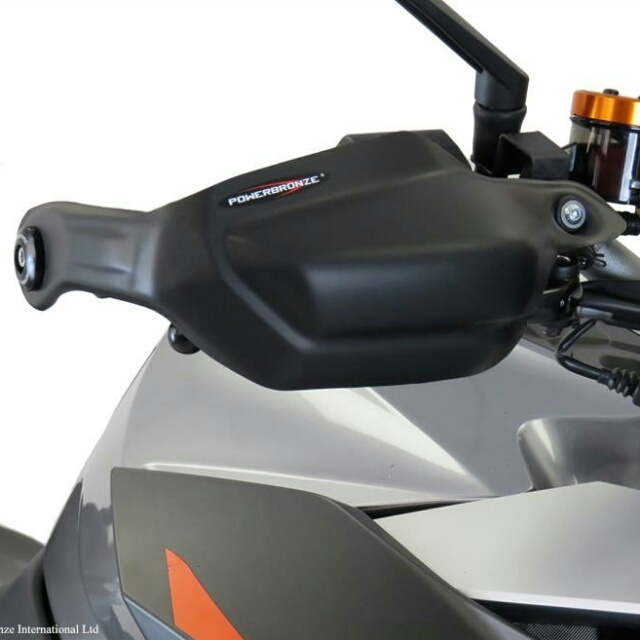 KTM >> 1290SuperDukeGT(16-) ハンドガードキット Powerbronze