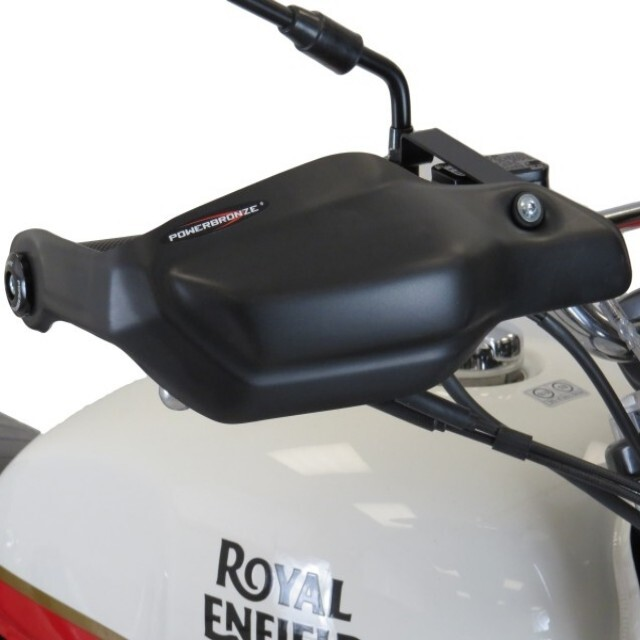 ROYAL ENFIELD >> INT650 (18-) ハンドガードキット Powerbronze
