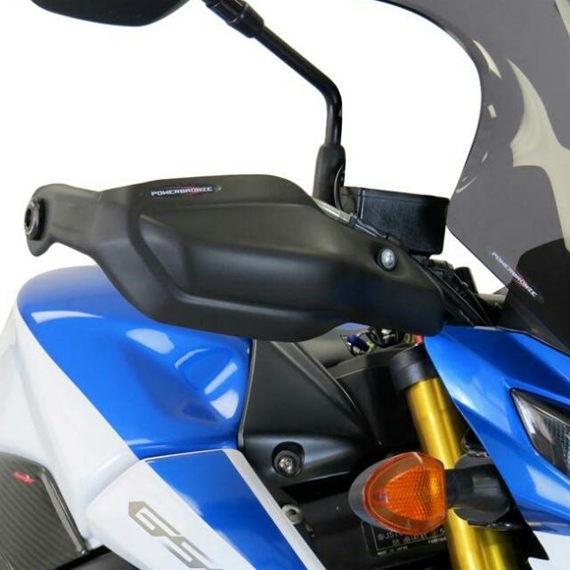 SUZUKI >> GSR750(ALL) ハンドガードキット Powerbronze